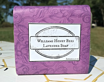Lavender Beeswax Cold Pressed Soap