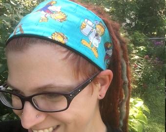 Garfield Elastic Headband, Veterinary Hair Covering