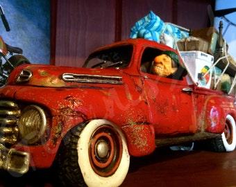 Antique Toy Truck Photograph