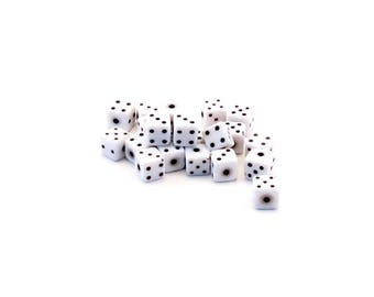 Set of 10 resin dice