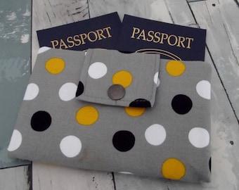Dollbirdies Original Deluxe Small Passport Travel Wallet, Wallet, Passport, Passport Case
