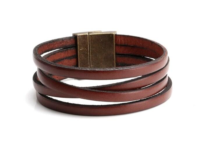 Boho Bracelet, Leather Bracelet, Stacked Leather Bracelet, Wholesale Boho Bracelet