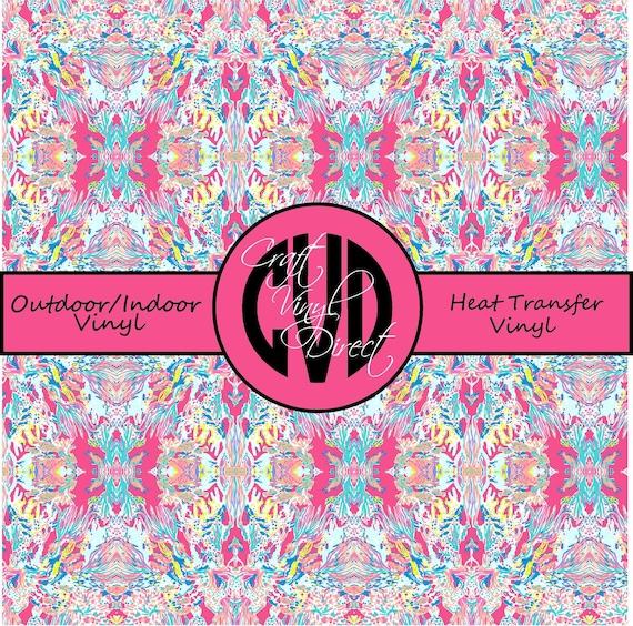 Beautiful Patterned Vinyl // Patterned / Printed Vinyl // Outdoor and Heat Transfer Vinyl // Pattern 676