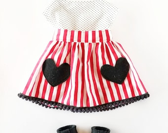 Heart Pocket Outfit - Dress Up Outfit