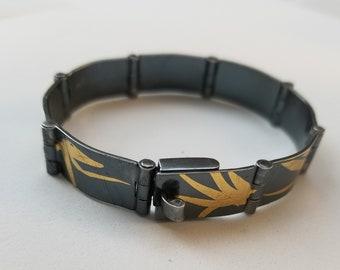 Keum boo hinged bracelet
