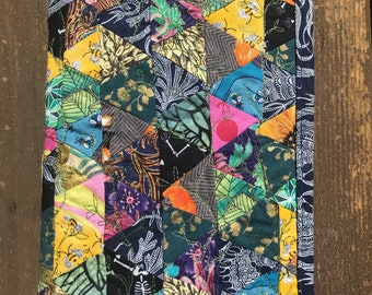 Triangle quilted journal