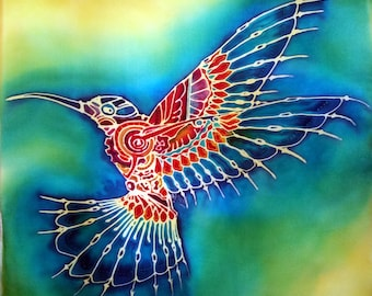 Jewel - Silkpainting