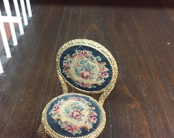 Petit Point French Chair