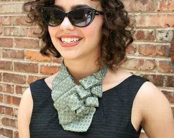 Womens Necktie Scarf - Necktie Necklace - Mothers Day Gift - Hipster Clothing. 35.