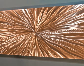 Copper Wall Decor / Metal Wall Art / Copper Wall Art / Metal Wall Decor /  Office Decor / Copper Wall Art / Metal Art / Living Room Decor