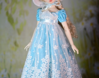 Miss Ingram Regency Dress, Outfit, Clothes for Tonner Wilde Imagination Ellowyne Prudence Amber