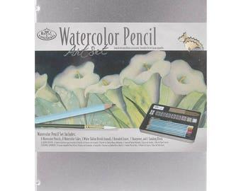 Art Watercolor Pencils Tin 19 Pieces