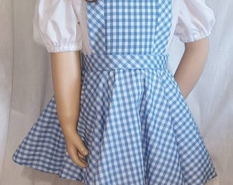 Size 6 Whimsical Dorothy  costume ---  *Ready made*