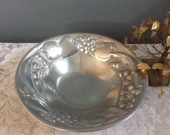 Wilton Pewter Fruit Bowl