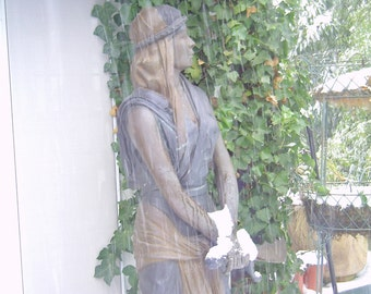 Bronze Life Size Statue of Warrior Woman, Joan of Arc.