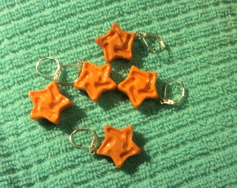 Gold Star Stitch Markers