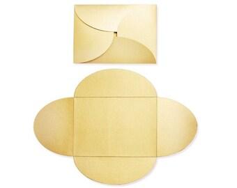 Pochette Envelopes (5 x 7) - Gold Metallic (10 Qty.)