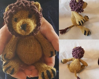 Leonard the Lion- Made to order
