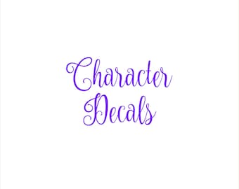 Character Decals - Walt Disney World -  Magic Band Decals - fits 1.0 and 2.0