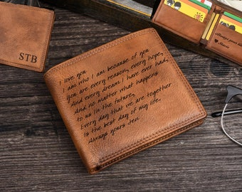 mens gifts,Gift for Dad,Mens Wallet,Personalized Wallet,Engraved Mens Wallet,Leather Wallet,Genuine Leather,leather wallet,Fathers Day