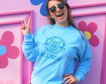 Monsters University (MU) Alumni - Sweatshirt // original design by Brand By You