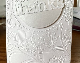 Thank You Cards - Many Thanks - Blank Inside