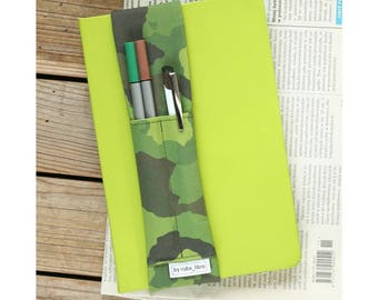 Notebook pen holder - Camouflage