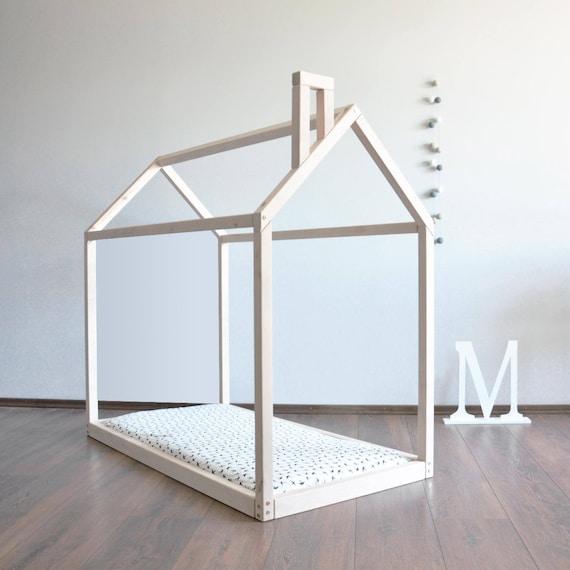 Completa o cama matrimonial casa marco niño Montessori cama