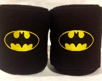 Batman Logo Embroidered Polo Wraps