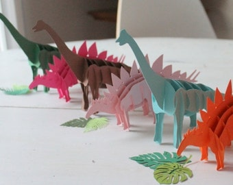 3D Dinosaur Favors and Decorations CUSTOM