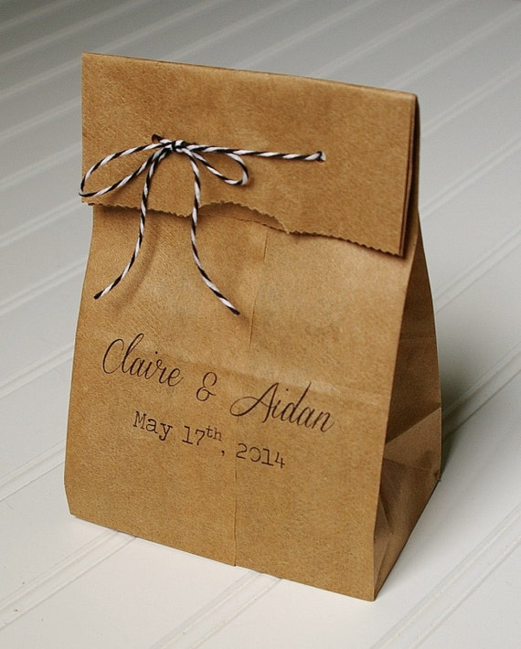 personalised wedding cake bags personalized wedding favor bags bags kraft paper 18225