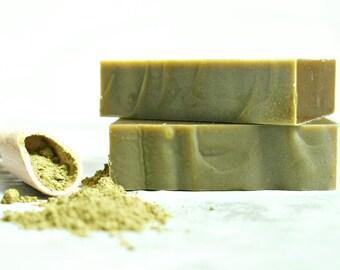 Matcha Green Tea Lemongrass Homemade Soap, Vegan Soap,Natural Soap, Cold Process Soap, Green Soap,Palm Free Soap,Handmade Soap, Soap Bar, Uk