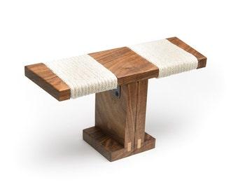 Ronin Meditation Bench - Black Walnut