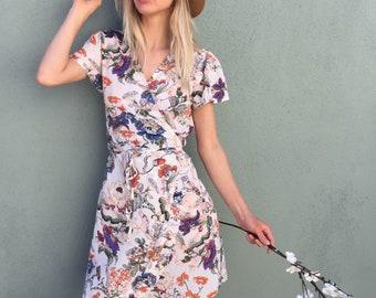 boho dress, womens dresses, boho dresses for women, bohemian dress, beach dress, wrap dress, womens dress, summer dress, festival dress