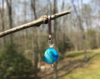 Marbled Stone Bridle Charm