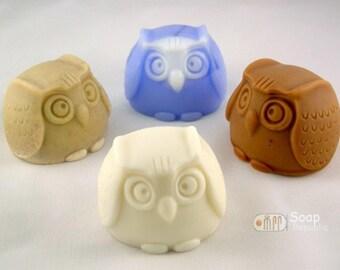 SoapRepublic Owl Silicone Soap Mold
