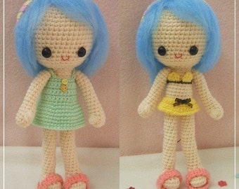 PDF Pattern - Sunny - The summer girl (with 2 outfits)