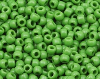 11/0 TOHO beads * Opaque mint green *-TR-11-47-beads, 2.2 mm-10 g