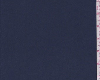 Dark Blue Sueded Polyester, Fabric By The Yard