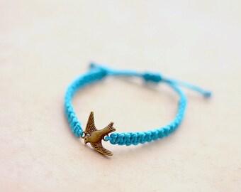 Sparrow Bracelet - Hemp Bracelet - Hemp Jewelry