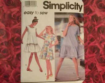 1990's Vintage Simplicity Sewing Pattern