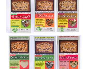 Stock up your Pantry - Artisan's Dozen (13) Magic Meals  -  DIY Gourmet Meal Kits  Organic Soup Mix - Bread Mix - Dinner Mix Food Spice Herb