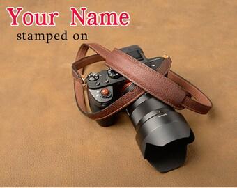 Leather Custom  Camera Strap  Personalized Camera Strap  DSLR Sony, Nikon, Canon Accessorie Photography Gift Birthday Gift Boho