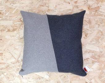 Dark Grey/Light Grey Cushion