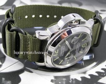 Superb ballistic nylon Zulu G10 Nato® watch strap for Panerai RXW PAM 22mm 24mm Watch
