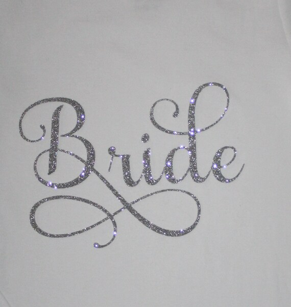 Bride iron on decal transfer diy do it yourself silver solutioingenieria Gallery