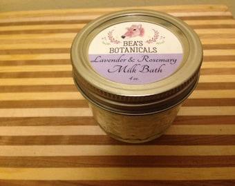 Lavender & Rosemary Milk Bath