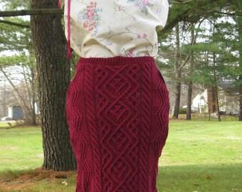 Renewed Sweater Skirt