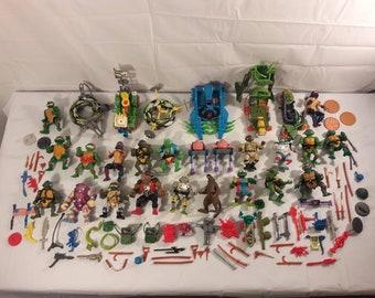 Vintage Teenage Mutant Ninja Turtles Lot