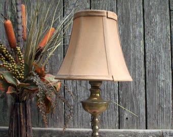 Lovely Brass and Marble Accent Table Lamp